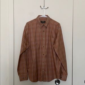Eddie Bauer Dress Shirt Pre Owned Large
